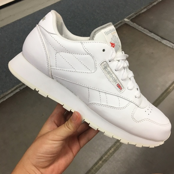 612ef0574fa Women s Reebok Classic Leather White Shoes